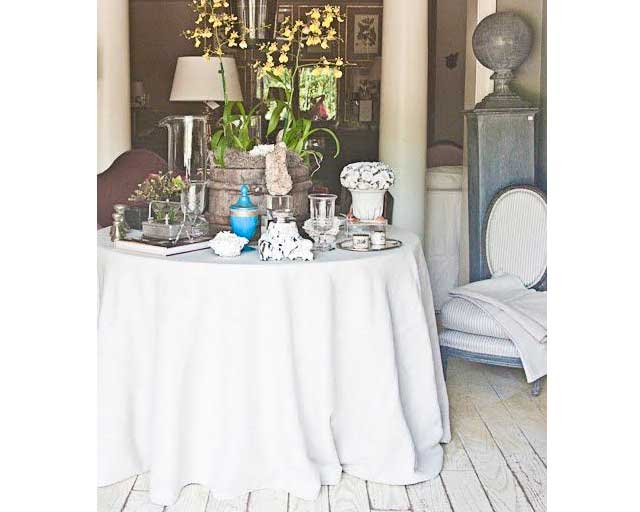 Spot Cleaning Linens