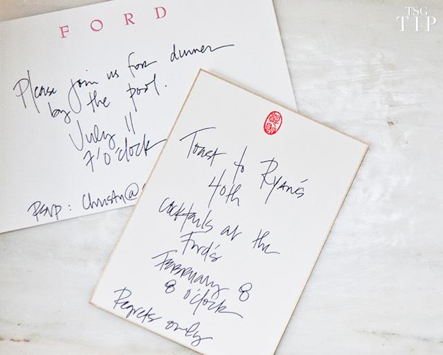 TSg Tip 8: The Handwritten Note