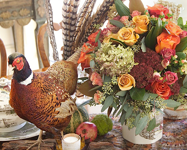 The Anatomy of a Thanksgiving Centerpiece
