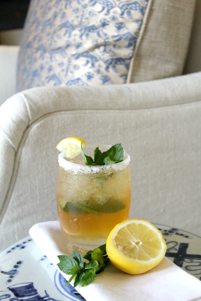 What We're Making: Green Tea Mint Juleps