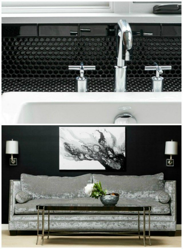 The Beauty of Black and White Glynis Wood Schwartz Design Showroom
