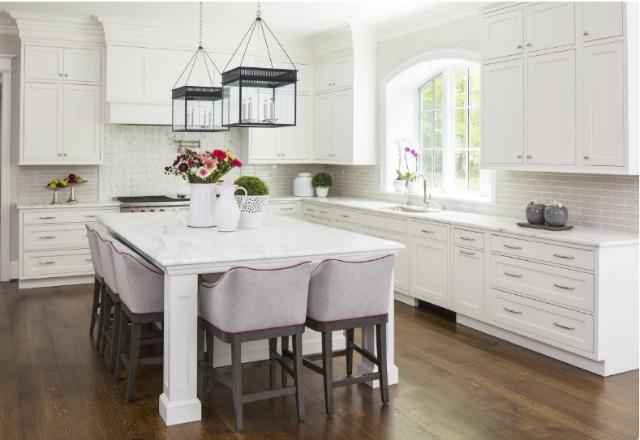 Martha O'Hara Interiors white kitchen