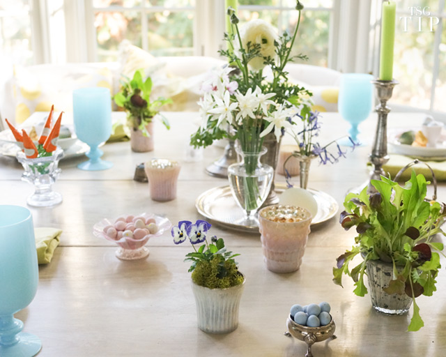 Setting An Easter Table
