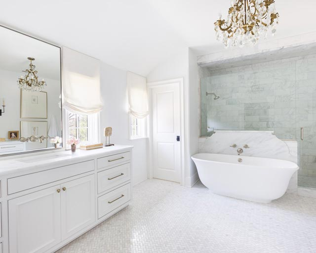 12 Beautiful Marble Bathrooms The Scout Guide