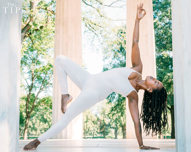 5 Yoga Poses For Increasing Strength Toning Muscles And Easing Anxiety The Scout Guide