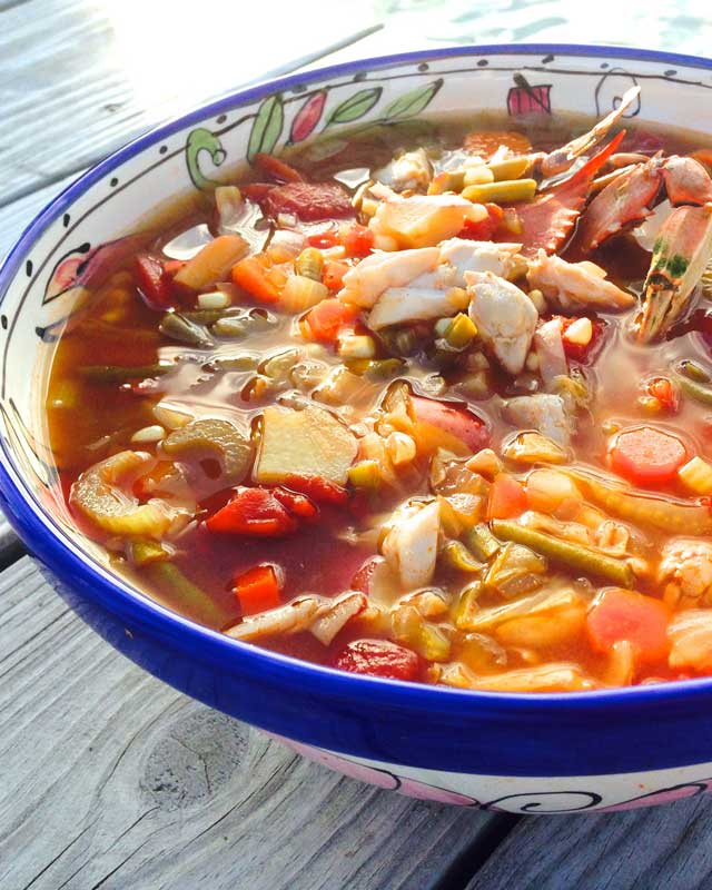 Vicky Mullaney's Crab Soup Recipe