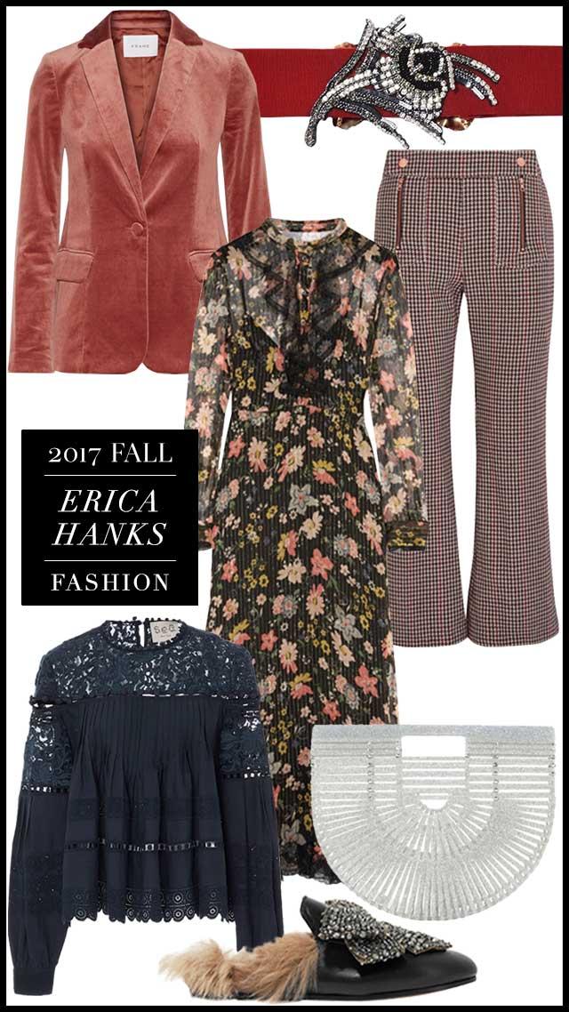 Erica Hanks's 2017 Fall Fashion Picks