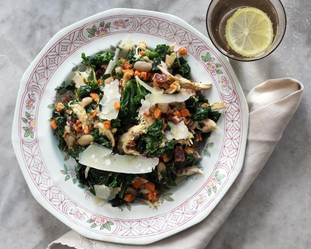 Warm Chicken, Bacon, Sweet Potato Salad Recipe
