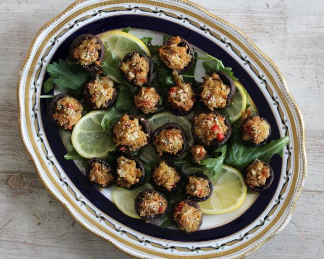 Crab Stuffed Mushroom Recipe
