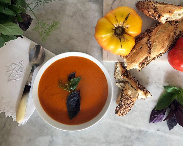 Ulmstead Heirloom Tomato Soup Recipe
