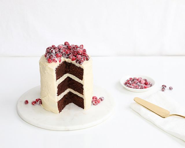 Wild West Bakery Chocolate Cake