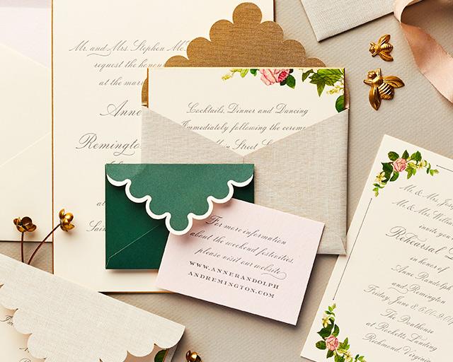 Wedding Week Stationery