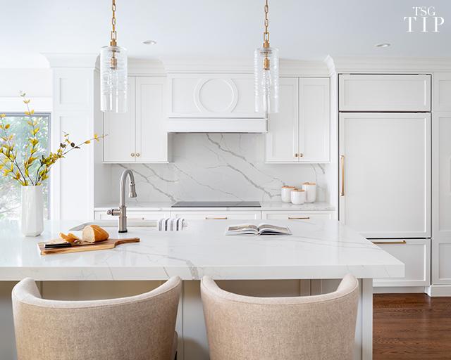 White Kitchen Tip