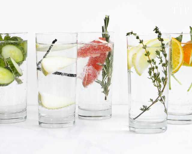 infused water tip