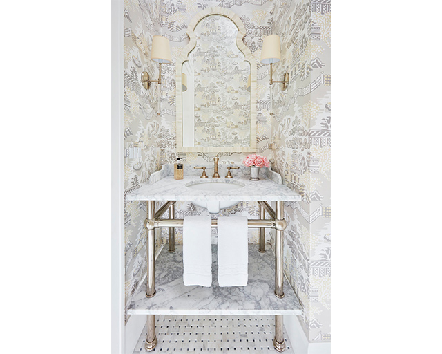 9 Chic Powder Rooms That Celebrate Pattern The Scout Guide