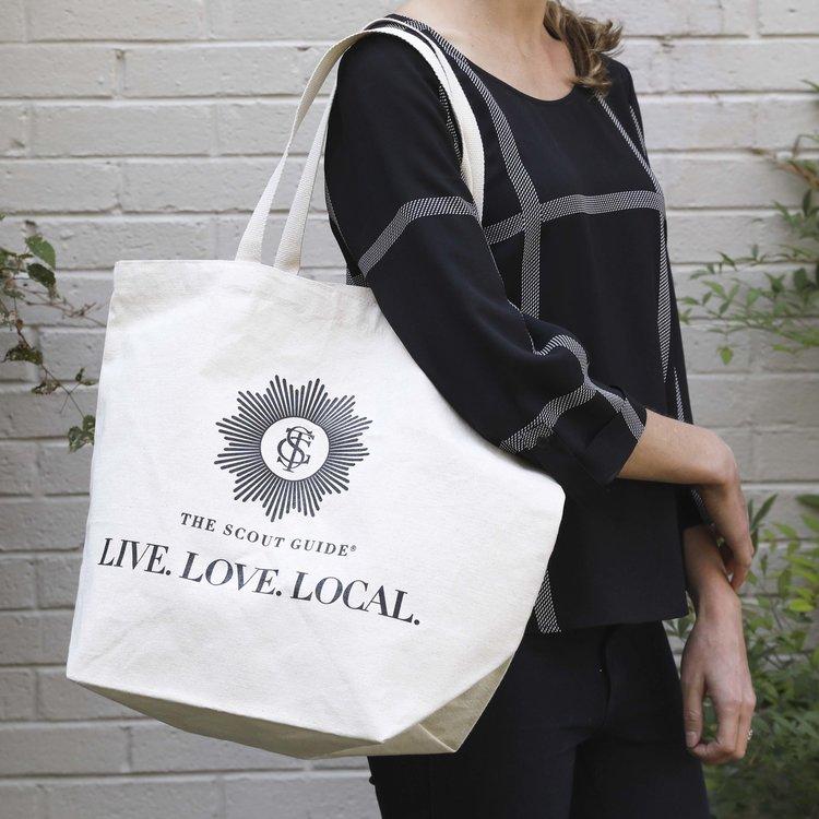 Natural Canvas Bag