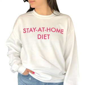 Purchase STAY AT HOME DIET WHITE SWEATSHIRT