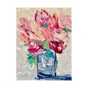 Buy Baby's Pink at Oil Paintings by Karen Rolfes