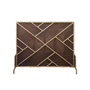 Purchase Chinoiserie Bamboo Firescreen