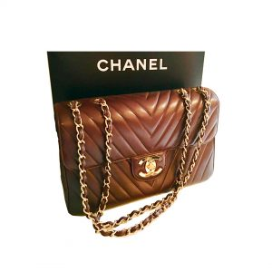 Purchase Chanel Chocolate Single Flap Bag