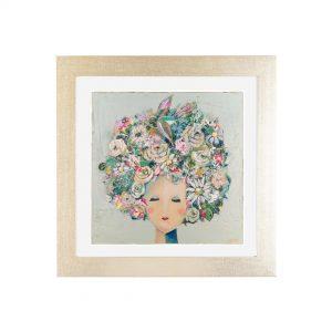 """""""Garden Goddess"""" 12x12 Fine Art Print"""