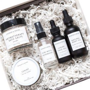 Purchase Luxury Skincare and Bath Set