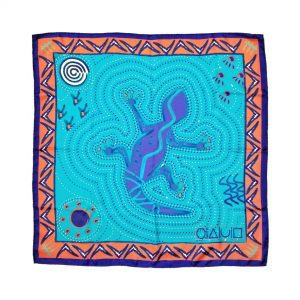Purchase Aborigine Art Print Silk Twill Carré Scarf