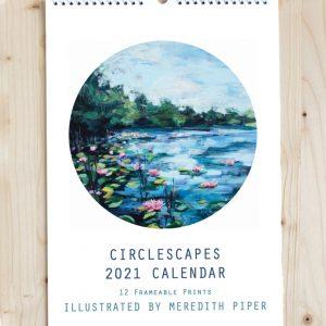 Buy 2021 Circlescape Wall Calendar