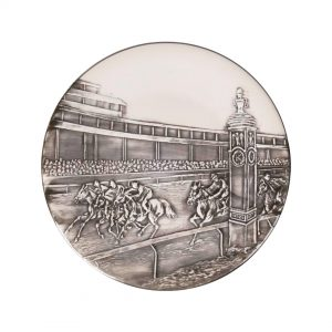 Purchase Keeneland Embossed Scene Round Platter