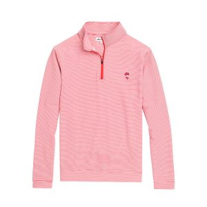 Purchase Ribby Perth Mini-Stripe Performance Quarter-Zip