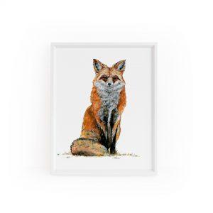 Purchase Fox Art Print