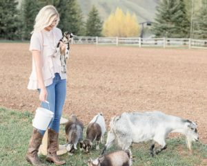 Willow Bend Ranch - Jackson Hole Goat Yoga