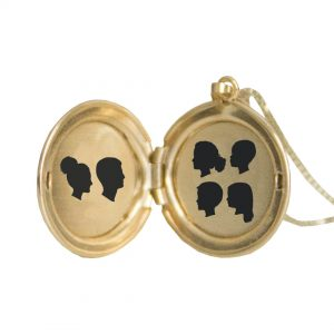 Purchase Large Silhouette Locket