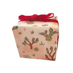 Purchase CHRISTMAS CACTUS WRAPPING PAPER