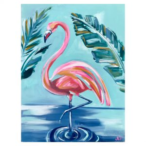 Buy 18x24 Flamingo at Jennie Lou Art