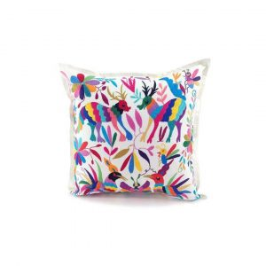 Purchase Full Embroidered Otomi Pillow