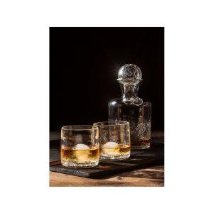 Buy Decanter and Rocks Glass Set at Lexington Glassworks